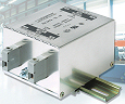 New DIN rail mounting EMC filters from Schaffner simplify panel building and industrial control systems