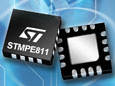 STMicroelectronics cuts power and response time with new touch screen controller IC