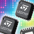 Single-chip LED-backlight drivers from STMicroelectronics serve notebook PC screens and large-display applications