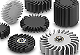 Fischer Elektronik develops star-shaped heatsinks for LED lighting applications