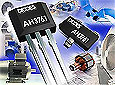 Diodes' high sensitivity Hall-effect latch sensor for BLDC fan and motor commutations