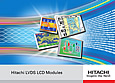 Hitachi LVDS TFT displays support SBC and embedded applications