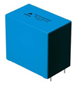Two new types of film capacitors with rated voltages of 575 V DC and 900 V DC have been added to the B32774* to B32778* series, providing extra flexibility to circuit designers for DC link and DC filtering functions in power converters.