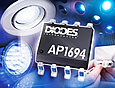 Diodes Incorporated has introduced the AP1694, an AC-DC controller providing a universal high-performance driver solution for a variety of mains-dimmable LED lamp designs.