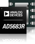 Analog Devices has introduced the AD5683R D/A converter. This16-bit single nanoDAC+ continues the series of ADIs nanoDAC® products offering high performance in smaller packages.