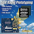 ADI offers four SDR platform solutions that simplify rapid SDR system prototyping and development.