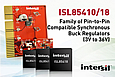 Intersil announces highly integrated, efficient and flexible Synchronous Buck Regulators