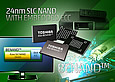 Toshiba launches 24nm 8Gb BENAND™ SLC NAND Flash Memory