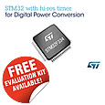 Highly efficient digital power conversion with the STM32F334 from STMicroelectronics
