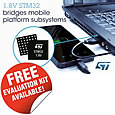 Low voltage MCUs for cost and space savings in consumer applications from STMicroelectronics