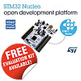 The STM32 Nucleo open development platform is growing fast. With five new boards (L053, F072, F302, F334, and F411), a total of nine STM32 Nucleo variants are now available, covering a major part of the STM32 portfolio.