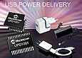 Microchip has announced a new family of USB Power Delivery (UPD) controllers - the UPD100X with an industry-standard power delivery and battery charging protocol.