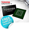 Introducing eMMC NAND flash memory from Toshiba
