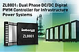 Intersil announces highly integrated DC/DC digital PWM controller for densely populated infrastructure power systems