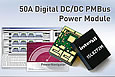 Intersil launch ISL8272M 50A step-down digital power module