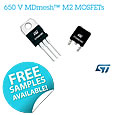 New 650V Super-Junction MOSFETs from STMicroelectronics boost efficiency and safety margin