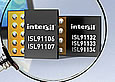 Intersil announces high efficiency buck-boost and boost+bypass switching regulators