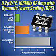 Analog Devices has introduced a family of low-power rail-to-rail amplifiers for high-speed data acquisition systems that require exceptional accuracy, precision and power efficiency.