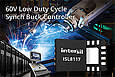 Intersil's innovative 60V Synchronous Buck Controller simplifies power supply design