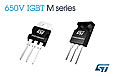 650V IGBTs from STMicroelectronics boost efficiency in 20kHz power-switching applications