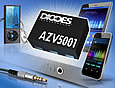 The AZV5001 headset detection IC introduced by Diodes Incorporated is targeted at cost and power sensitive consumer electronics such as mobile phones, tablet computers and media players.