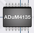 Analog Devices has introduced the ADuM4135 isolated IGBT gate driver to improve electric motor energy efficiency, reliability and system-control performance in industrial motor control applications.
