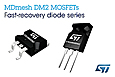The latest MDmesh DM2 N-channel Power MOSFET transistors from STMicroelectronics create new opportunities for power-supply designers to achieve greater efficiency in low-voltage power supplies for computers, industrial, and consumer devices.