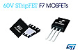 STMicroelectronics releases advanced 60V Power MOSFETs tailored for high efficiency in synchronous rectification
