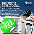 Analog Devices has released a new electrometer-grade operational amplifier that enables chemical analysis instruments to achieve the highest level of precision and data repeatability over a wider temperature range in a compact solution.