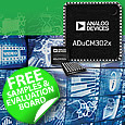 ADuCM302x Microcontroller series from Analog Devices ideal for low power secure IoT applications now available from Anglia