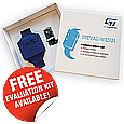 The STEVAL-WESU1 evaluation kit from STMicroelectronics is a reference design developed and optimized to help designers implement the latest technologies in wearable and portable applications.