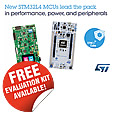 The latest STM32L496 microcontroller (MCU) from STMicroelectronics extends the unique fusion of ARM® Cortex® -M4F core performance and proprietary ultra-low-power technologies, adding larger memories, enhanced graphics support, extra peripherals.