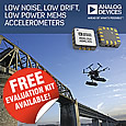 Analog Devices has launched a new three-axis, MEMS accelerometers that perform high resolution vibration measurement with very low noise to enable the early detection of structural defects via wireless sensor networks.
