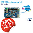 The new high-connectivity STM32L4 IoT Discovery kit (B-L475E-IOT01A) from STMicroelectronics gives unrivalled flexibility for developers building IoT (Internet of Things) nodes by supporting multiple low-power wireless standards and Wi-Fi®