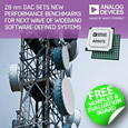 Analog Devices introduces the AD9172 series D/A converter that sets new performance benchmark for Wideband SDR