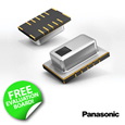 Introducing the Grid-EYE High Precision Infrared Array Sensor from Panasonic