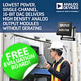 Analog Devices' has introduced the AD5758 digital-to-analog converter (DAC). The new DAC incorporates Analog Devices' second-generation Dynamic Power Control (DPC) which enables high density AOUT modules.