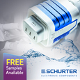 SCHURTER have introduced the 4761/4762 series of waterproof IEC connectors designed for harsh environments.
