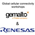 Global cellular connectivity with Gemalto and Renesas Synergy