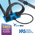 HIROSE, a world-class manufacturer in connectors, has extended the compact and low-profile DF60 series of robust Wire-to-Board and Wire-to-Wire connectors to meet the increased demand for high powered connectors offering advanced reliability.