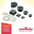 Murata manufacture a wide range of sounder and buzzer components based on Piezoelectric ceramic technology, the range includes surface mount and through hole housed sounders and Piezoelectric diaphragms.