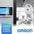 1.	Omron expand capability of USB multi-function Environmental Sensor for the IoT, samples available from Anglia