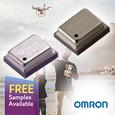The 2SMPB series of MEMS-based barometric pressure sensors from Omron Electronic Components Europe have been designed to support height and pressure measurement in drones, smartphones, pedometers and other battery powered mobile devices.