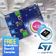 The STEF01 device from STMicroelectronics is a universal integrated programmable electronic fuse optimized for monitoring output current and the input voltage on DC power lines.