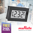 Murata have introduced the DMS-20LCD-0/1-DCM, self-contained, self-powered, dc voltage monitor digital panel meters setting new standards for quality, performance, size and cost.