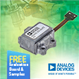Analog Devices ADcmXL3021 Vibration Sensor Module Designed for Condition based Monitoring,  Evaluation Board and Samples available from Anglia