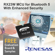 Renesas has introduced the RX23W a 32-bit microcontroller (MCU) featuring Bluetooth® 5.0 for IoT endpoint devices such as home appliances and healthcare equipment. By combining Bluetooth 5.0 with Renesas
