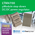 Analog Devices has expanded its suite of Power by Linear µModule regulators with the introduction of the LTM4700 step-down DC/DC power regulator