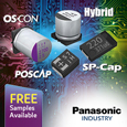 Panasonic a wide range of Polymer capacitors available in the industry. Polymer capacitors have excellent frequency characteristics due to their ultra-low ESR (Equivalent Series Resistance) values.
