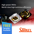 Stanley Electric, one of the words leading optoelectronics device manufacturers has recently expanded its range of Infra-Red (IR) LEDs.